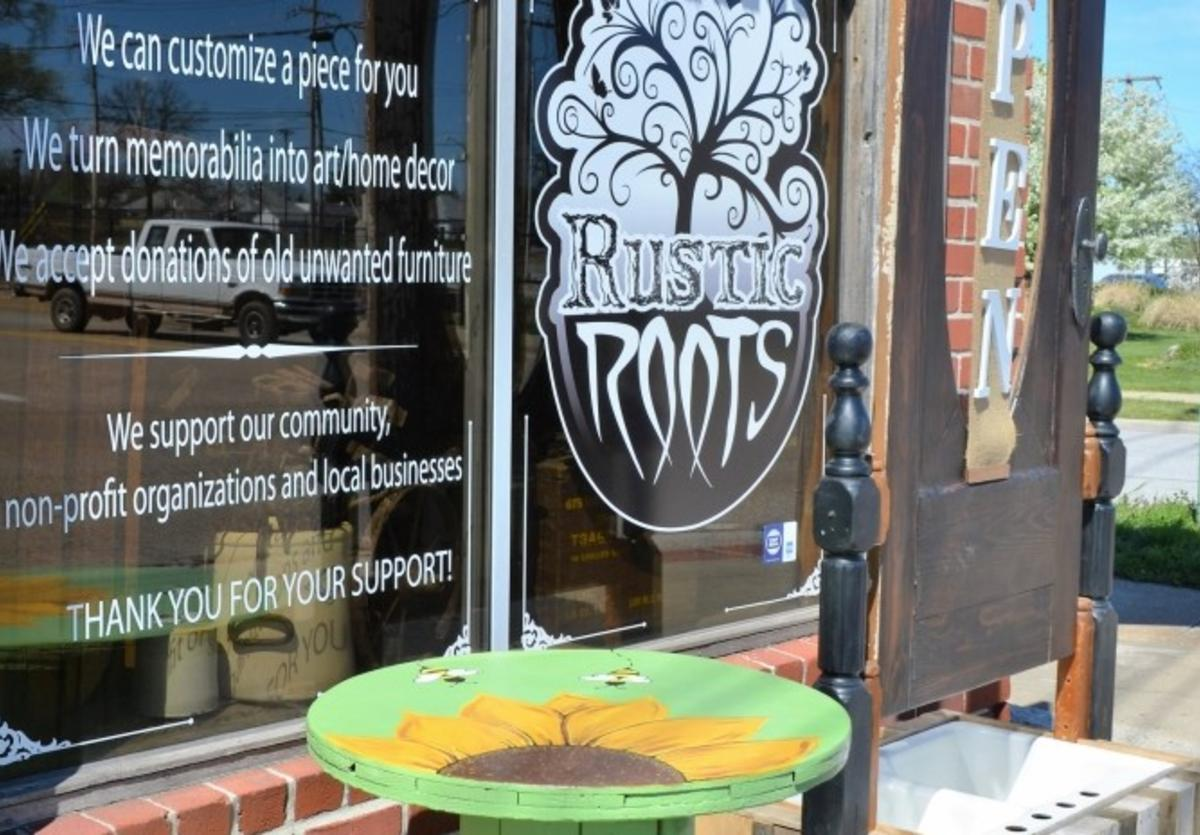 Outside of Rustic Roots