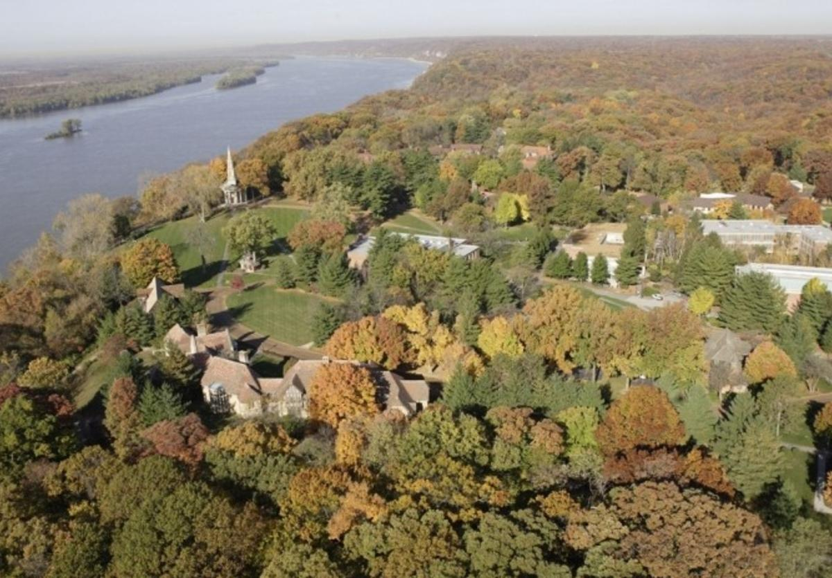 Aerial view of Principia College