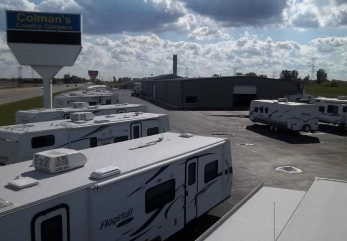 Coleman's Country Campers in Hartford