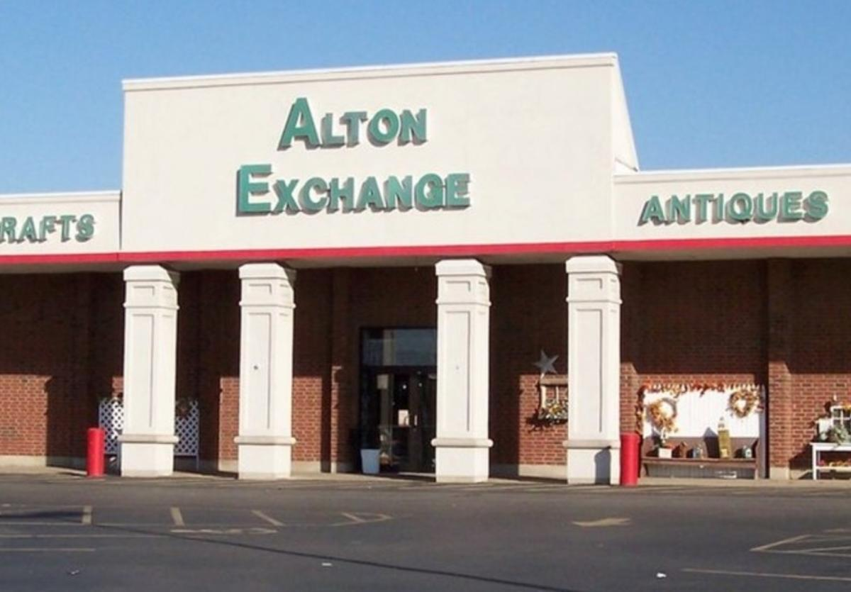 Front of Alton Exchange Mall