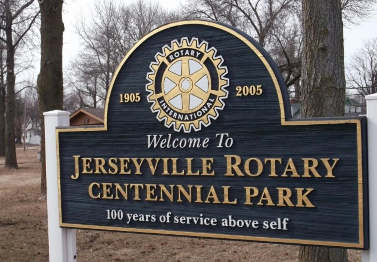 Rotary Park in Jerseyville, Illinois