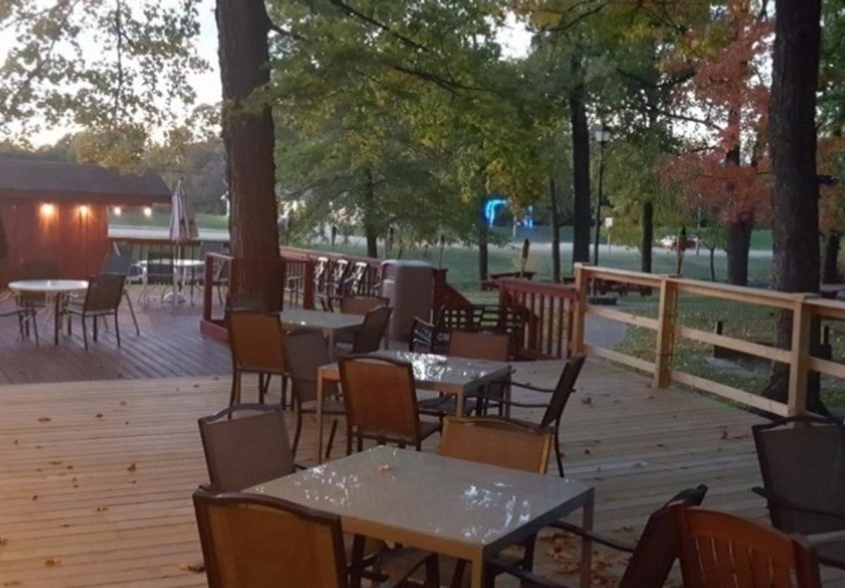 Patio at The LakeHouse at Buffalo Park