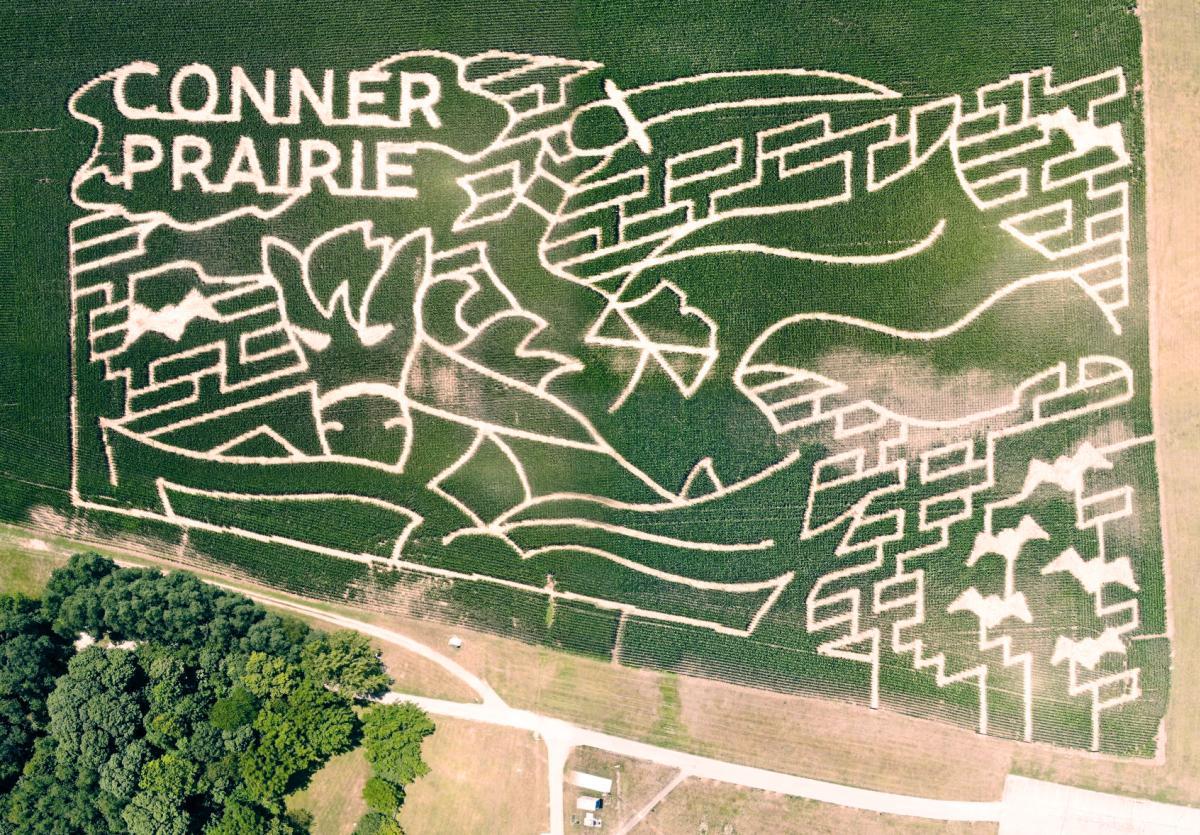 2020 Conner Prairie Corn Maze