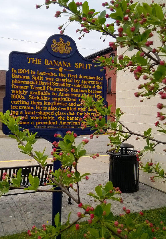 Banana Split historical marker