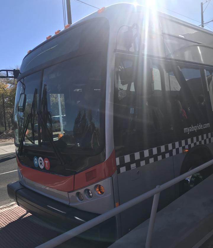Albuquerque Rapid Transit Bus