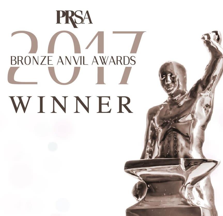 PRSA Anvil Award Winner Logo 2017
