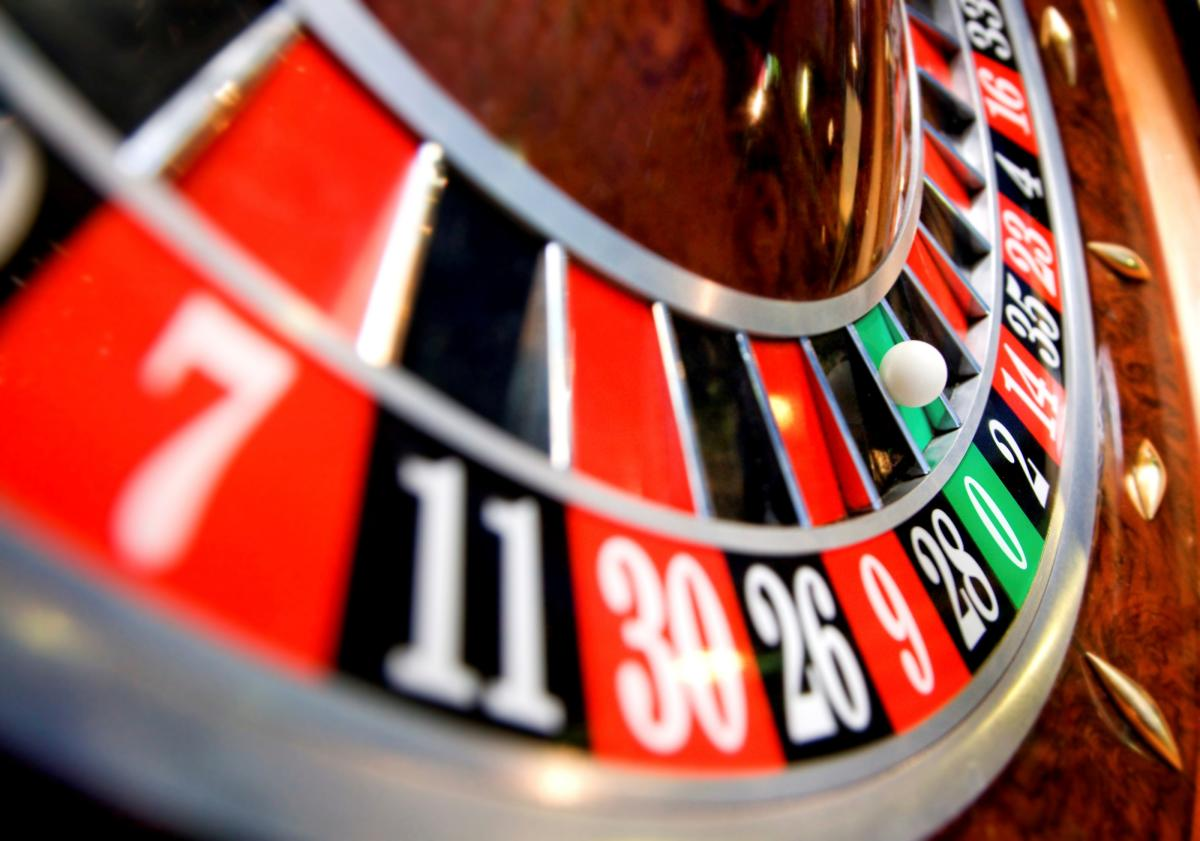 Roulette at The Casino at Wind Creek Bethlehem, Lehigh Valley, PA