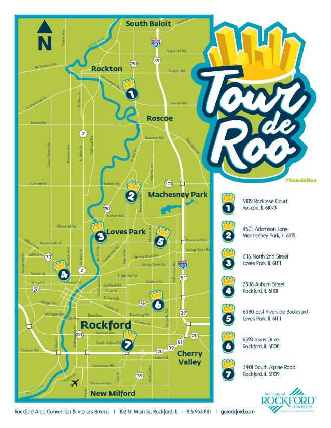 Tour de Roo map