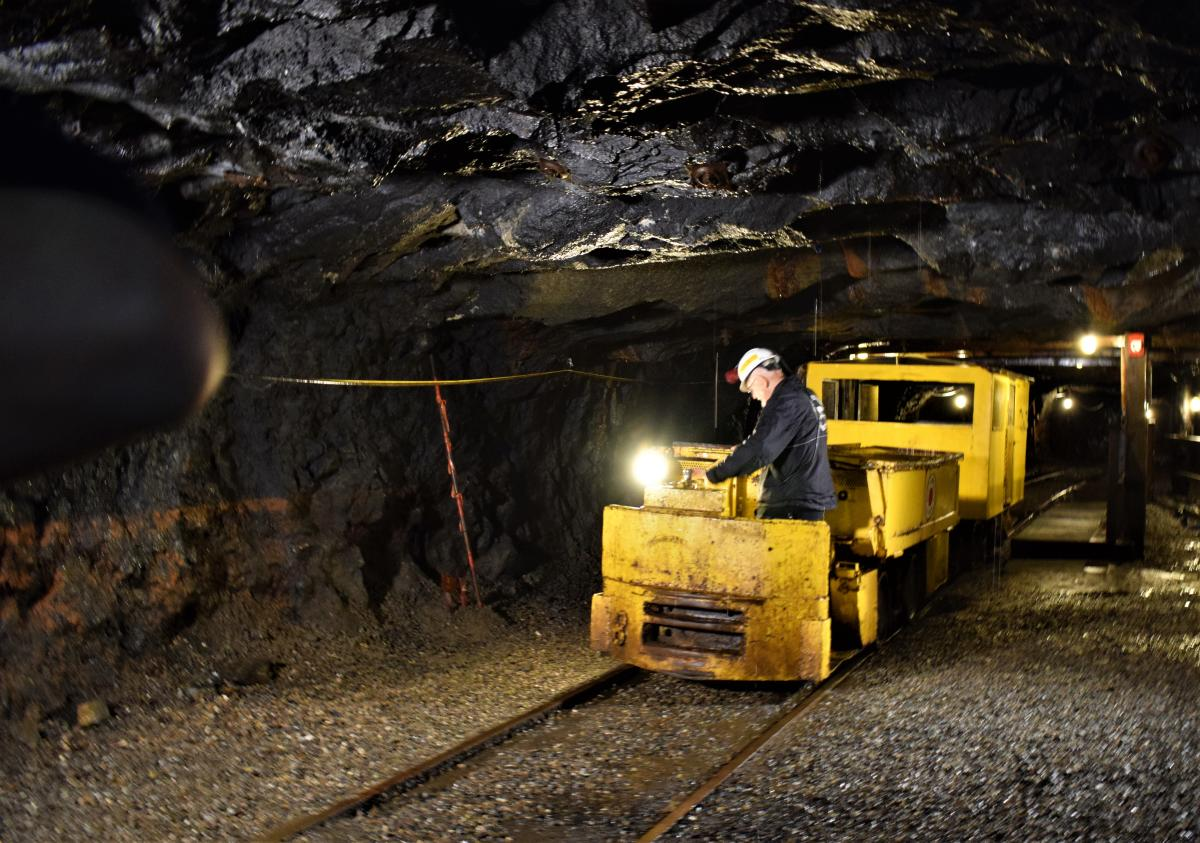 Step Back in Time to Discover a Coal Mine