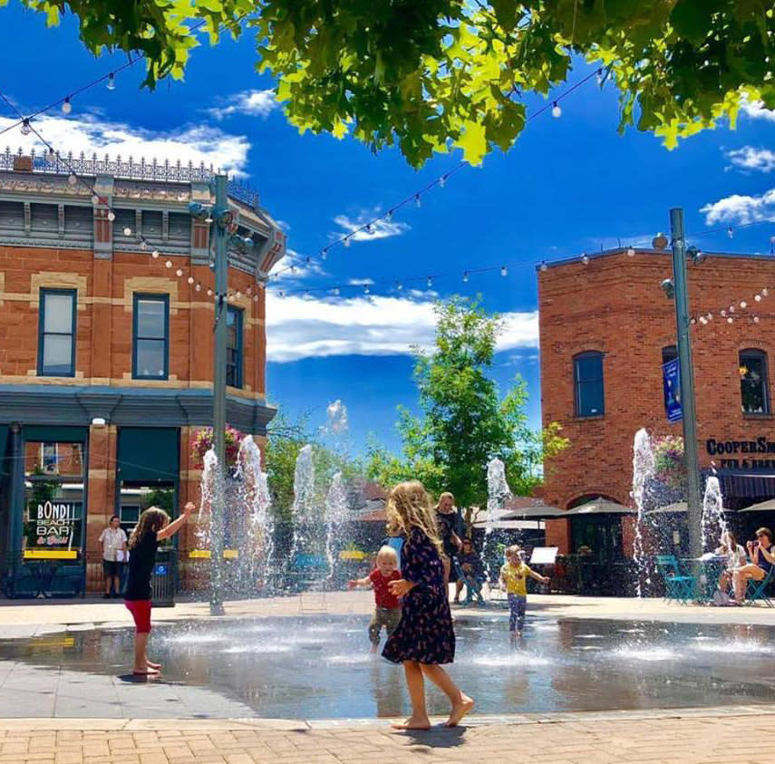 old town splash pad