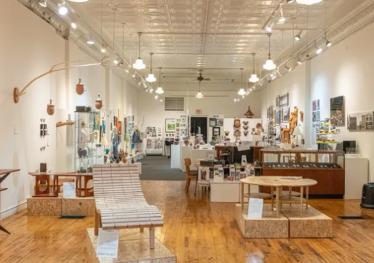 Step inside of the Q Gallery, to view locally made art in the Stevens Point Area.