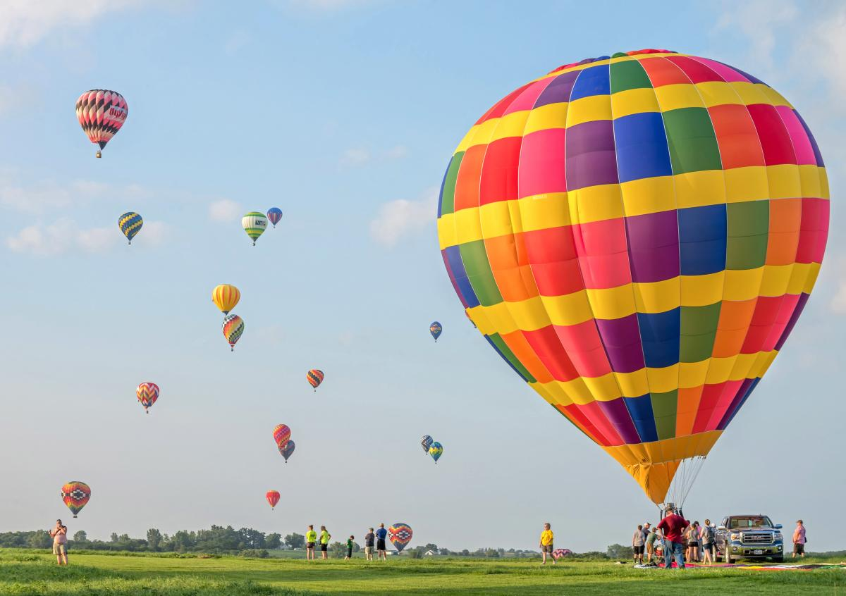 National Balloon Classic open field
