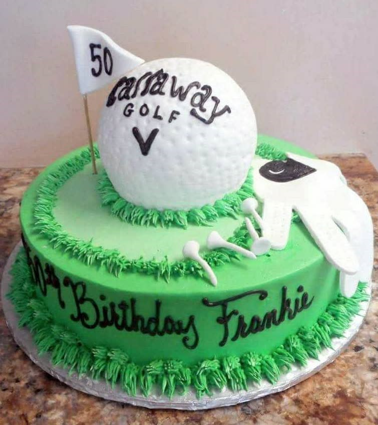 One of many designs that came from Kriebel's Custom Cakes.