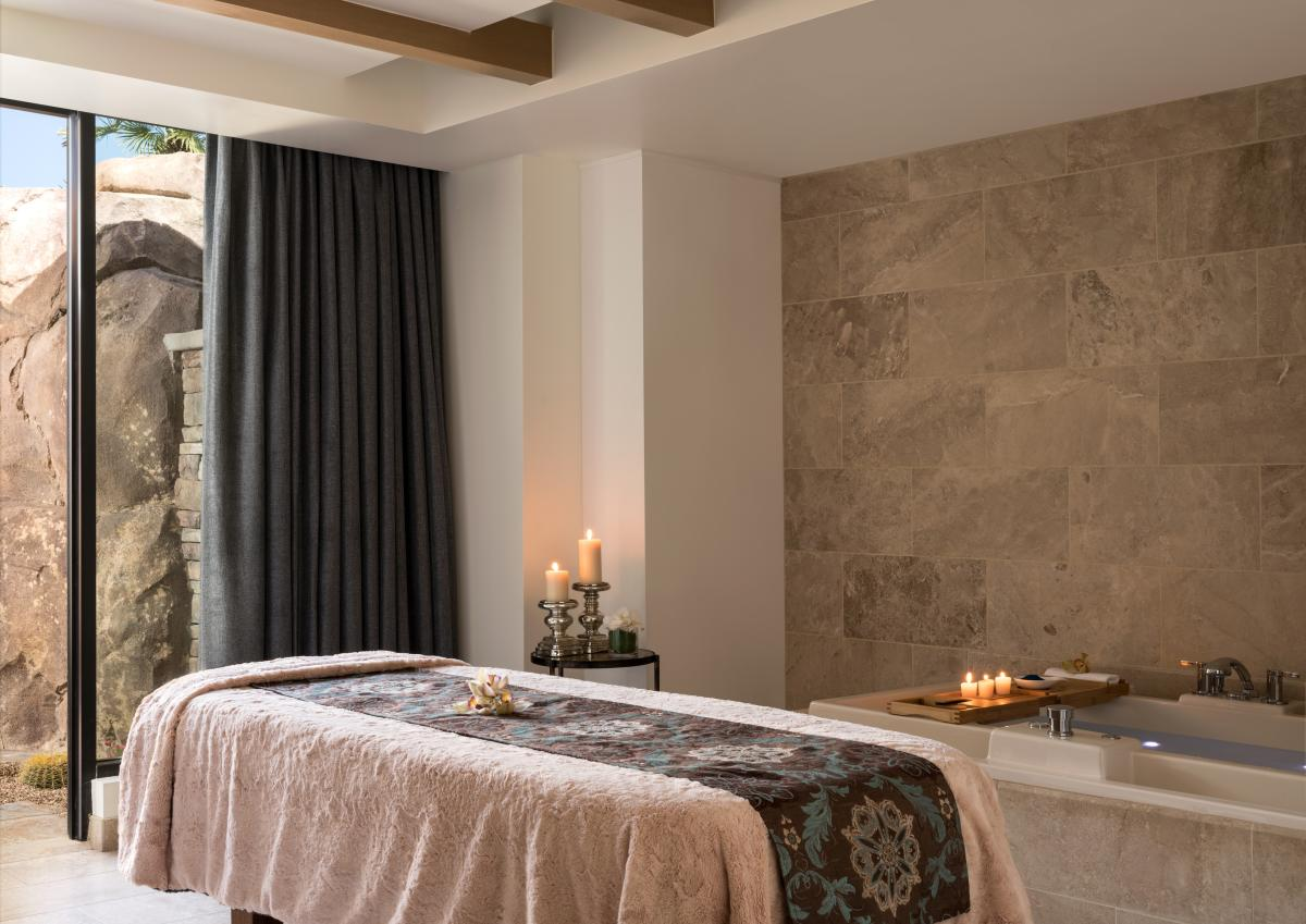 The spa at the Ritz-Carlton, Rancho Mirage