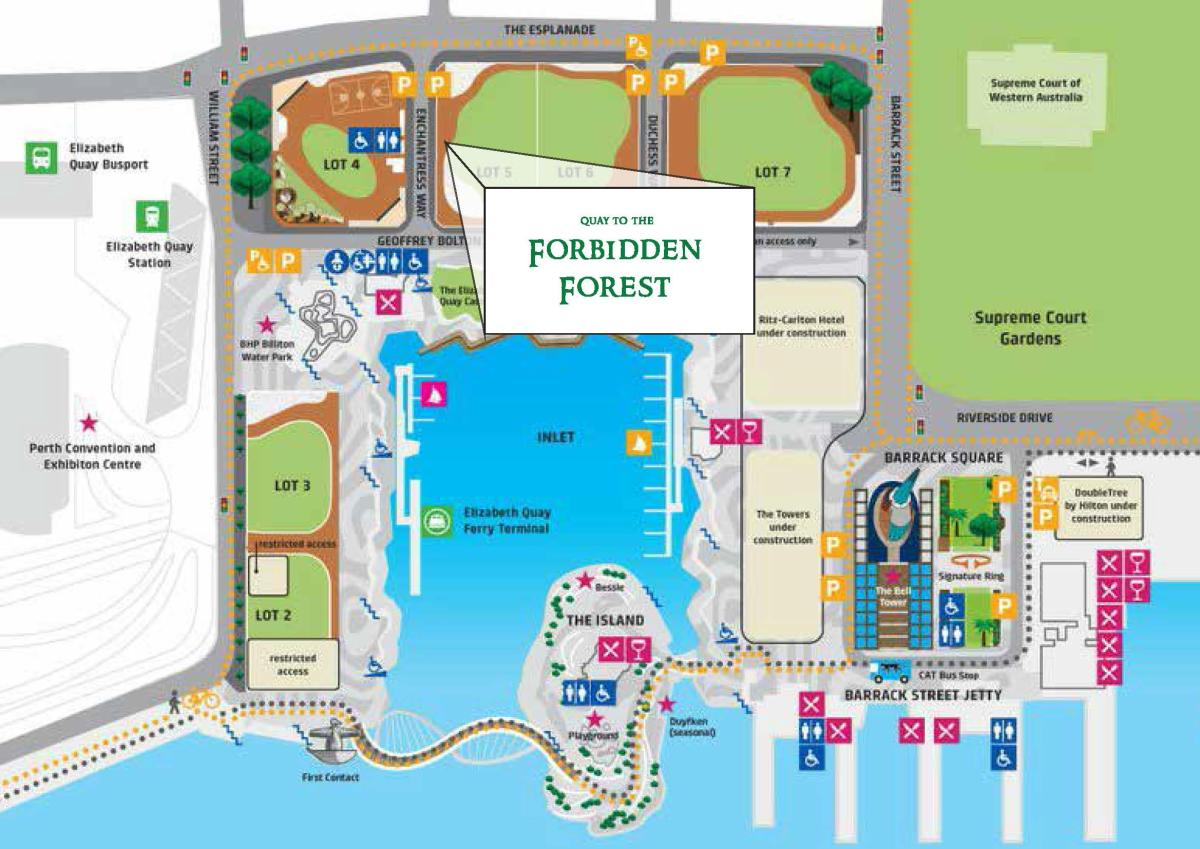 PCB Christmas Party Event Map