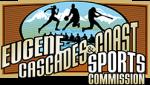 eugene cascades coast sports Commission horizontal logo
