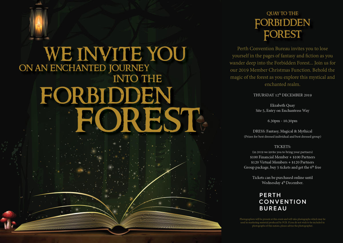 PCB Member Christmas Party Invitation