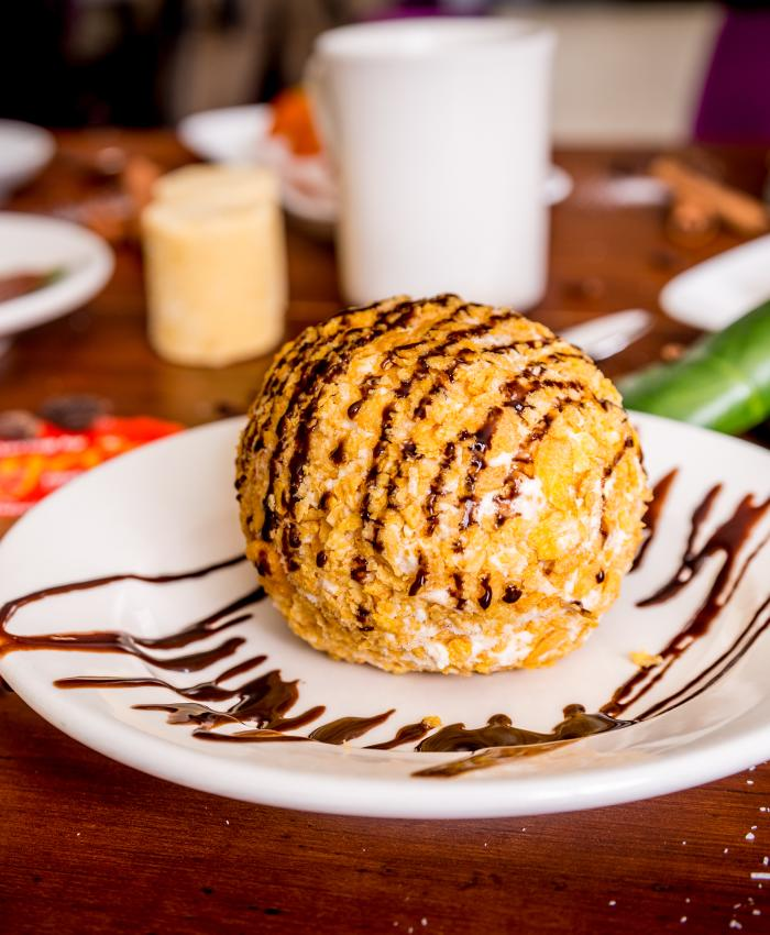 Aga's Fried Ice Cream