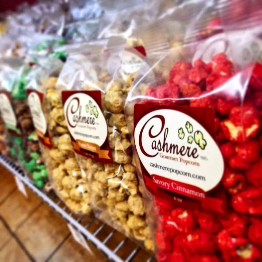 bags of gourmet popcorn
