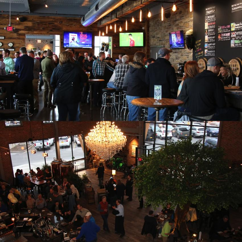 The Taproom and Beer Garden at New York Beer Project