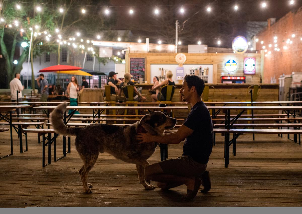 The Wurst Biergarten Pet Friendly
