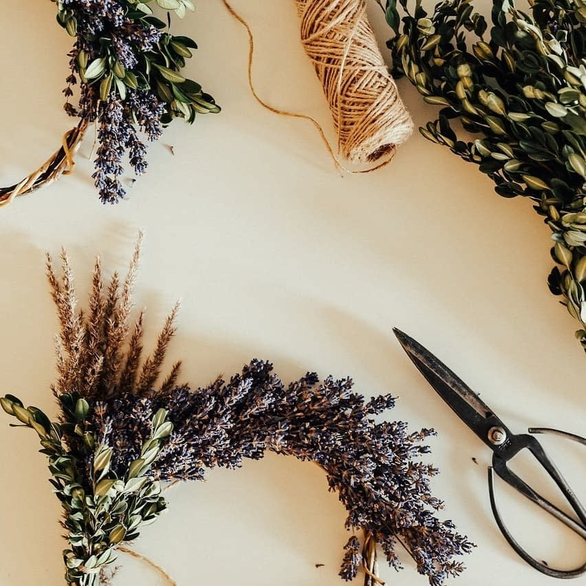 Okanagan Lavender Farm - Wreath Making