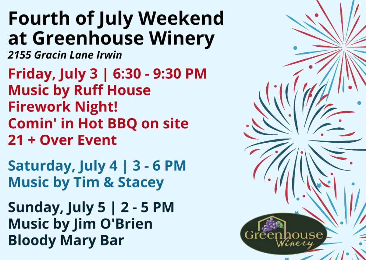 Greenhouse Winery Fireworks