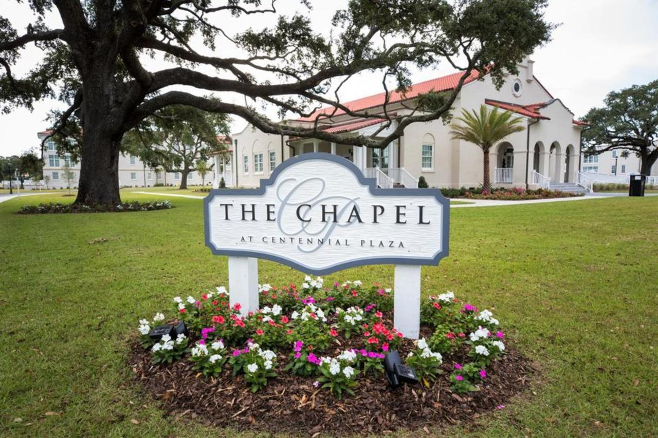 Chapel at Centennial Plaza in Gulfport for weddings and special events