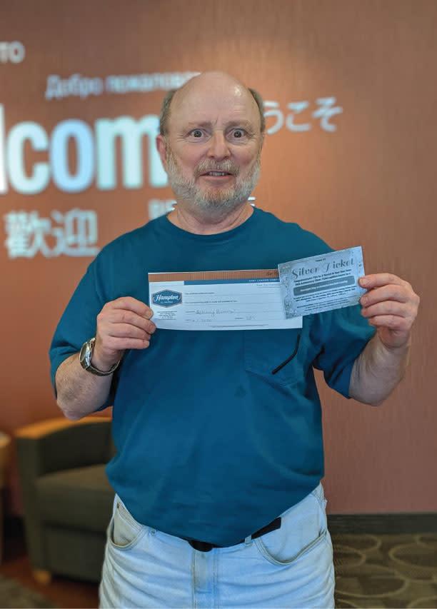 Tom S. Wins Silver Ticket - BATYOT 2019