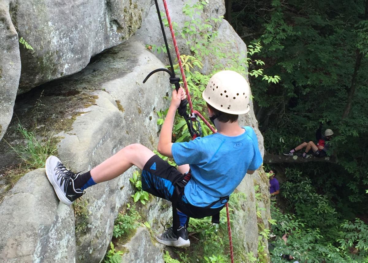 Rock Climbing Ohiopyle