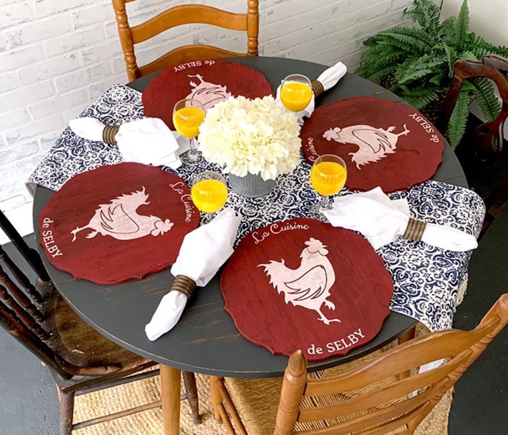 Board & Brush Table Mats