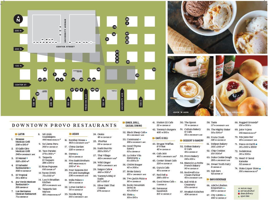 Restaurant Guide Pg. 2