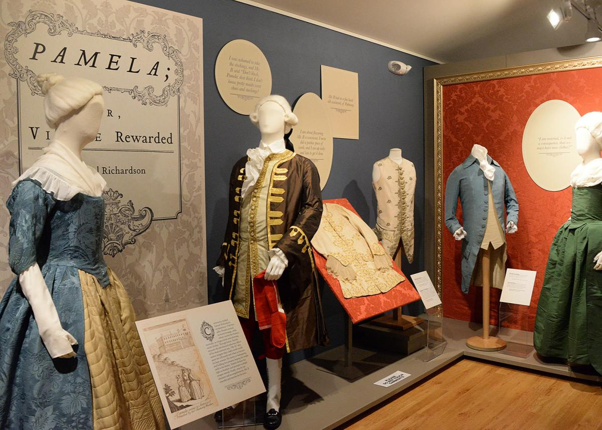 Clothes from the 18-century and on are on display at Shippensburg University's Fashion Archives & Museum