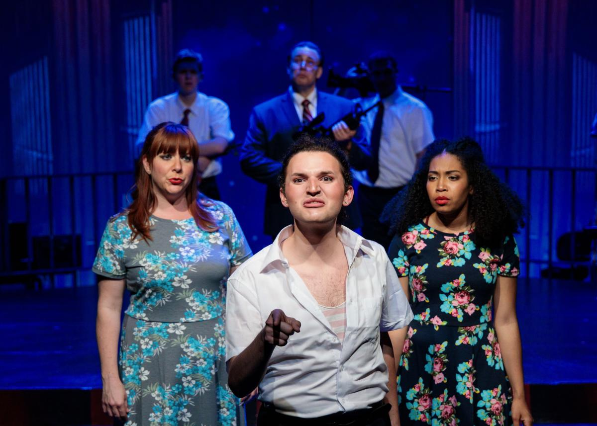 Julie Silvestro Waite, Jacob Weitlauf, Daisy Allred and Cast of Salt Lake Acting Company's Saturday's Voyeur 2019