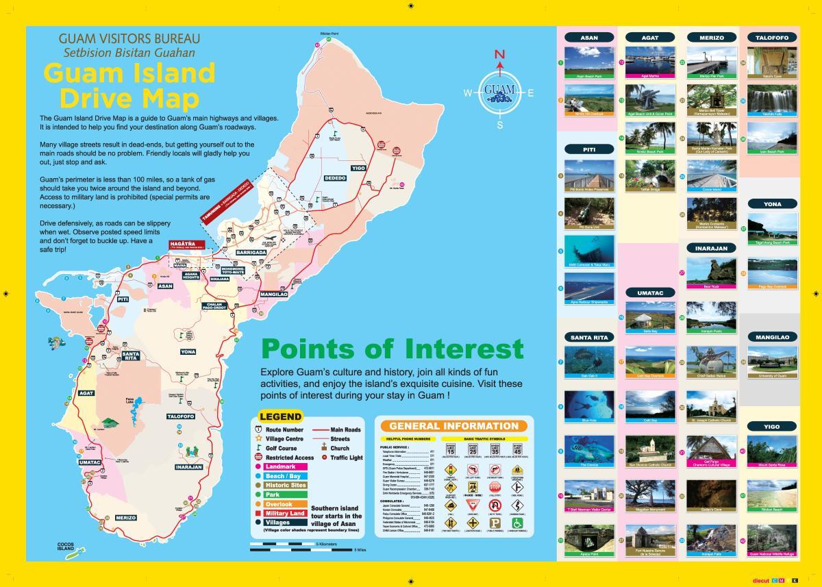 Guam-Island-Drive-MAP-2015-ENG