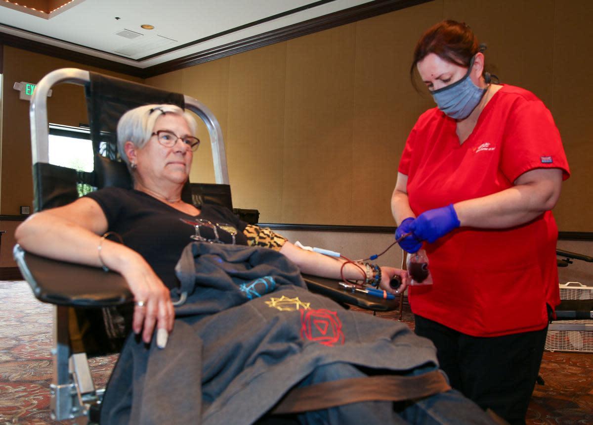 Blood Donations at CVPA