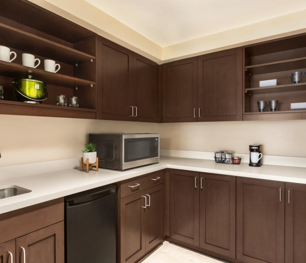 our one bedroom suite's kitchenette area