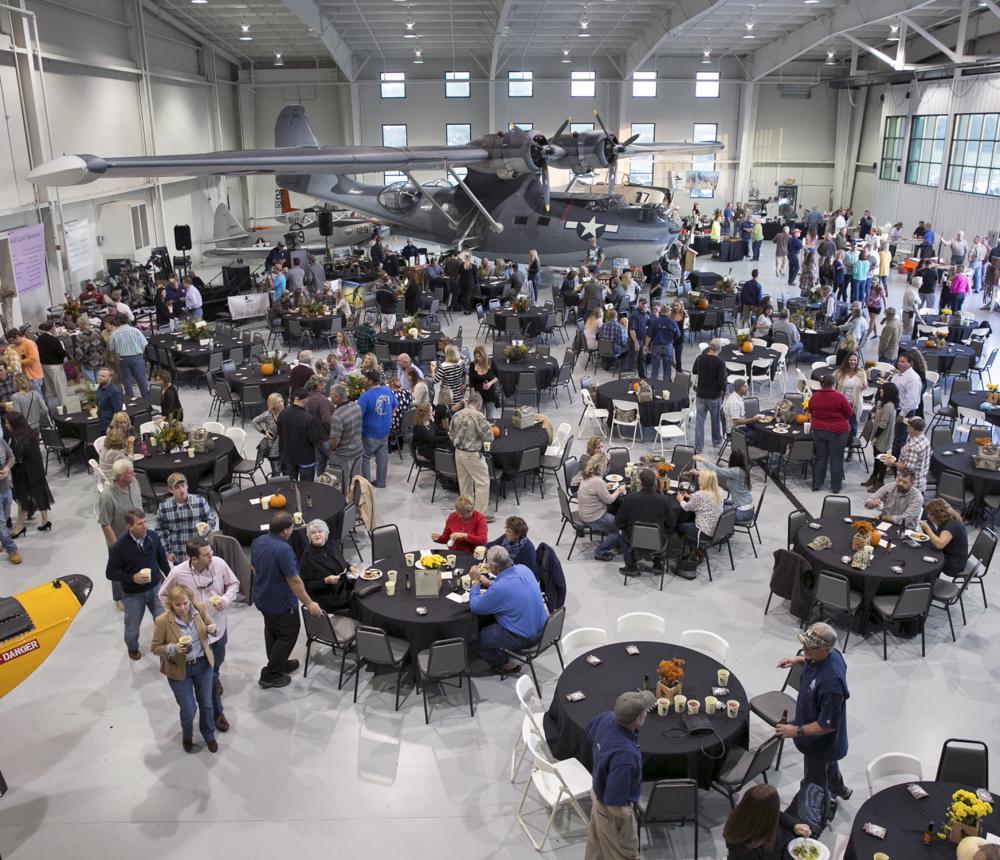 Informal Dinner Navy Hangar