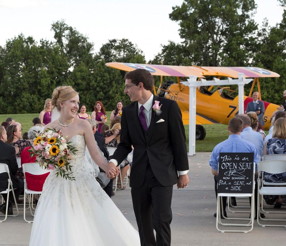 Wedding couple Stearman