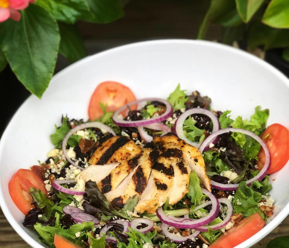 Salads - build you own, or choose a signature creation