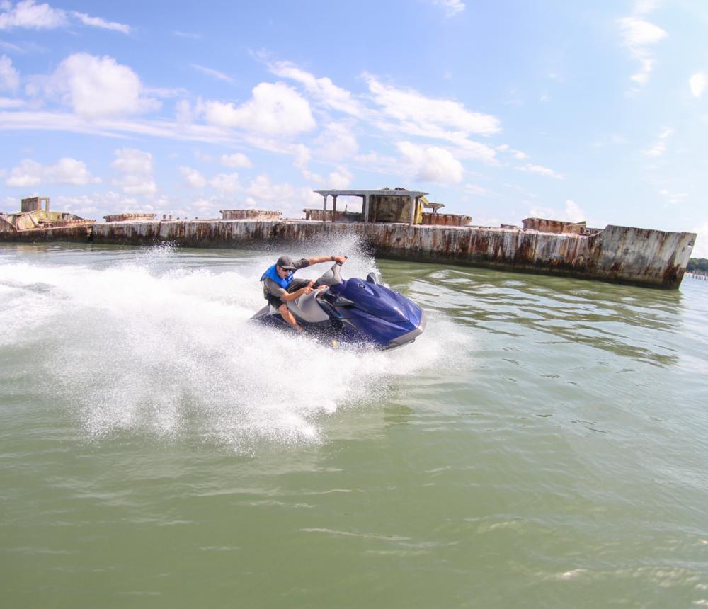 Poseidon Watersports VA jet ski rental