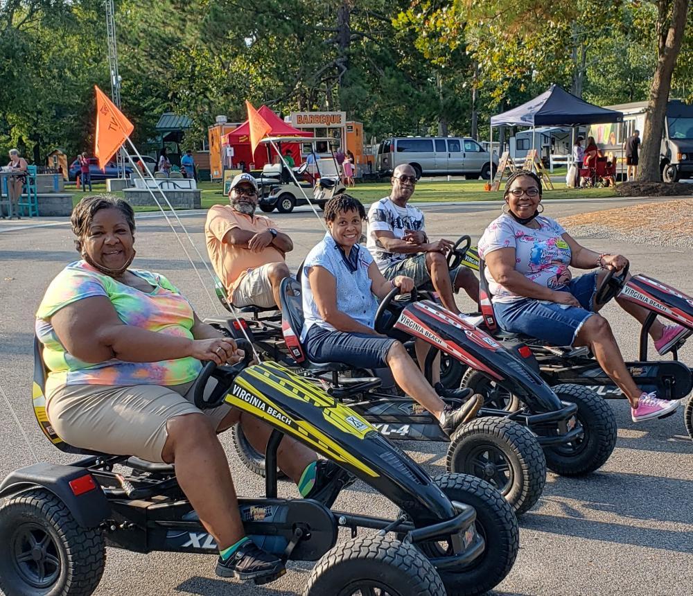 Pedal Cart Family