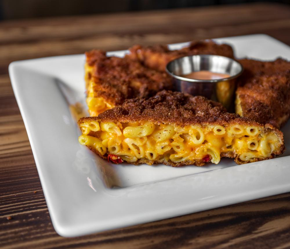 Fried Mac N Cheese