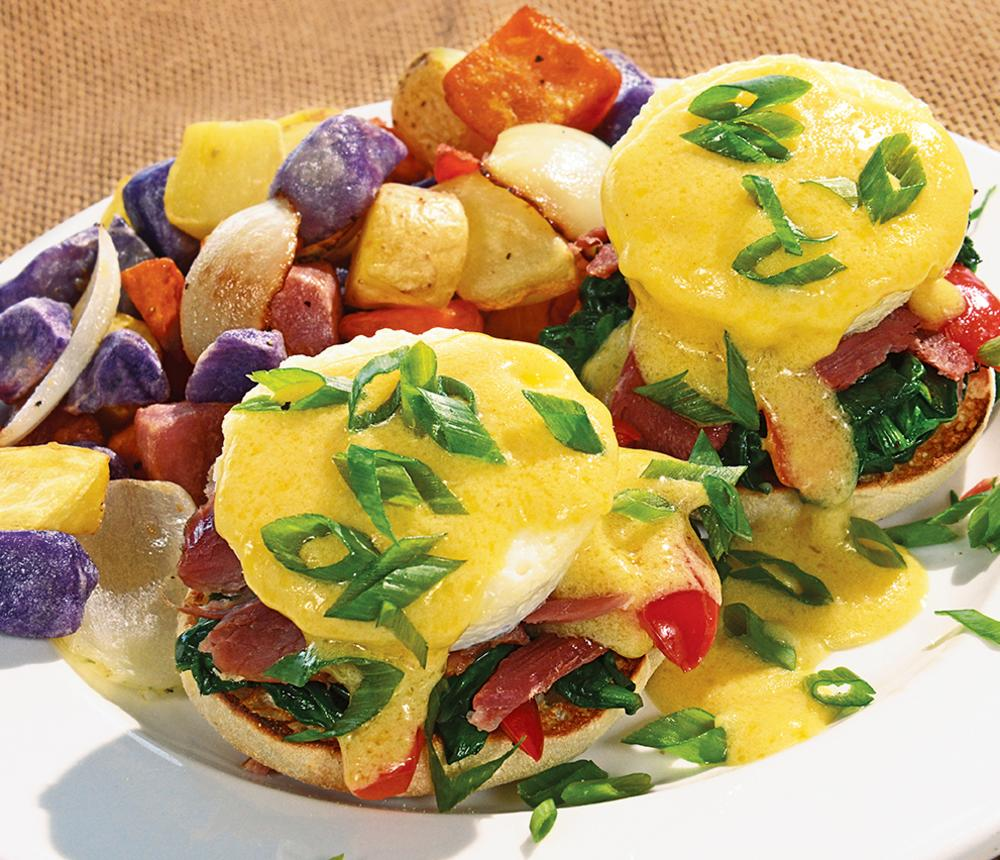 Farm Raised Benedict