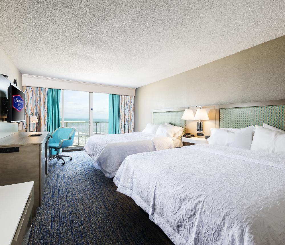 Two Queens Oceanfront Bedroom