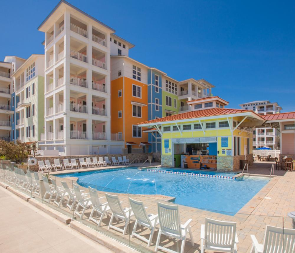 Sanctuary Realty Oceanfront Pool and Cabana Bar