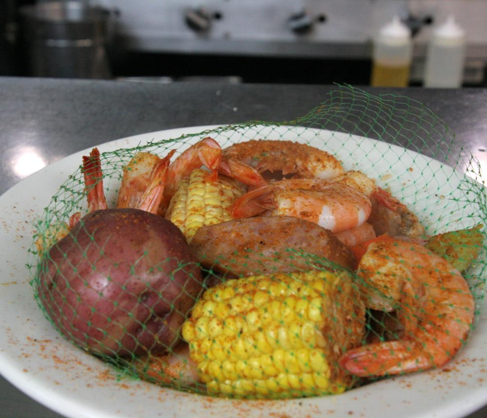 Shrimp Steamer Bag