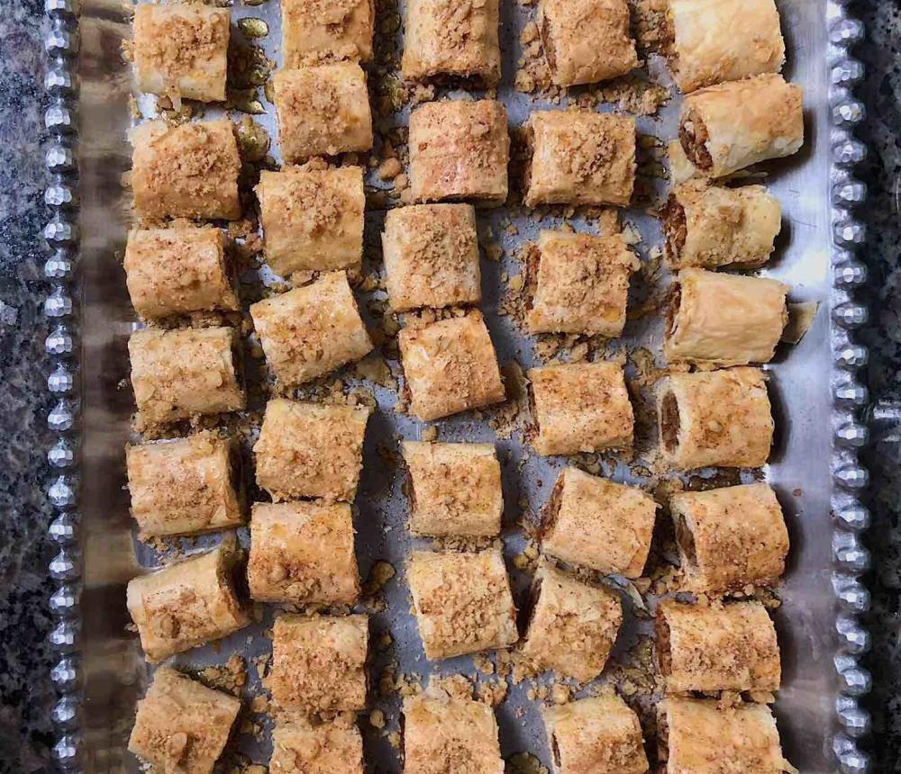 Baklava Trays