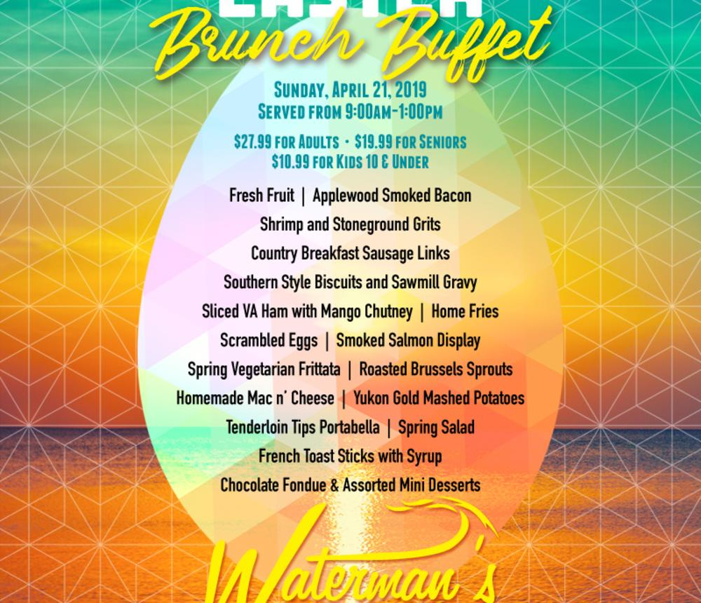 2019 Easter Brunch Buffet