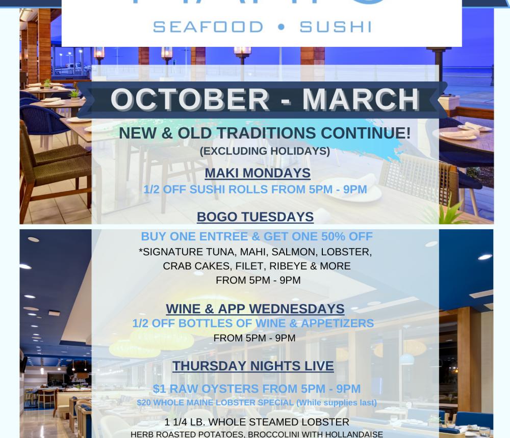 Mahi's Seafood & Sushi